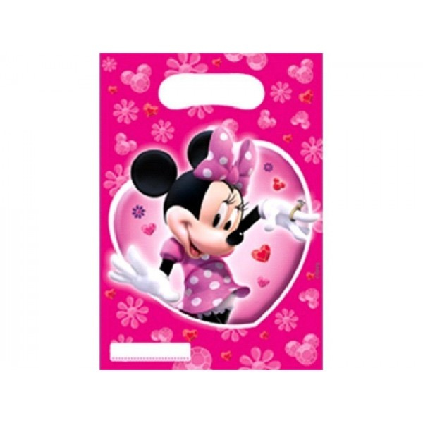 6 SACHETS DE FETE ROSE MINNIE