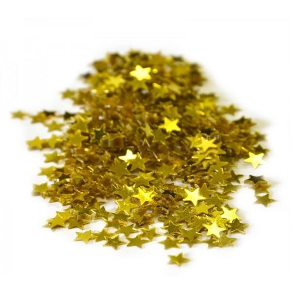 Confetti étoiles Or