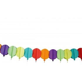 Guirlande papier ballons
