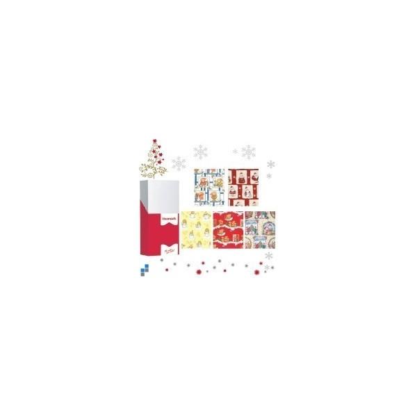 papier cadeau no l pour les arbres de no l des coles les cadeaux. Black Bedroom Furniture Sets. Home Design Ideas