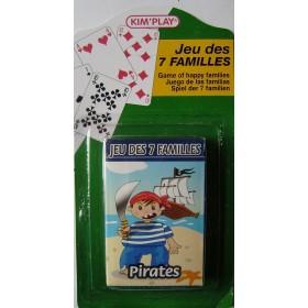 Jeu 7 familles Les pirates