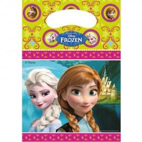 6 sachets de fête La Reine des Neiges