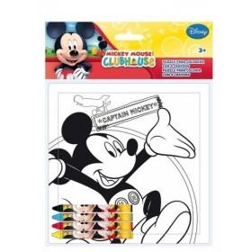 Puzzle à colorier Mickey