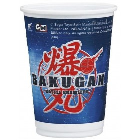 10 Assiettes Bakugan