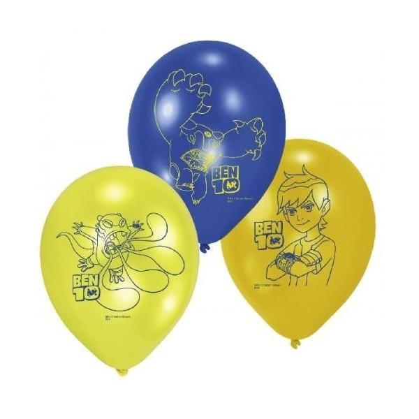 6 Ballons Ben 10