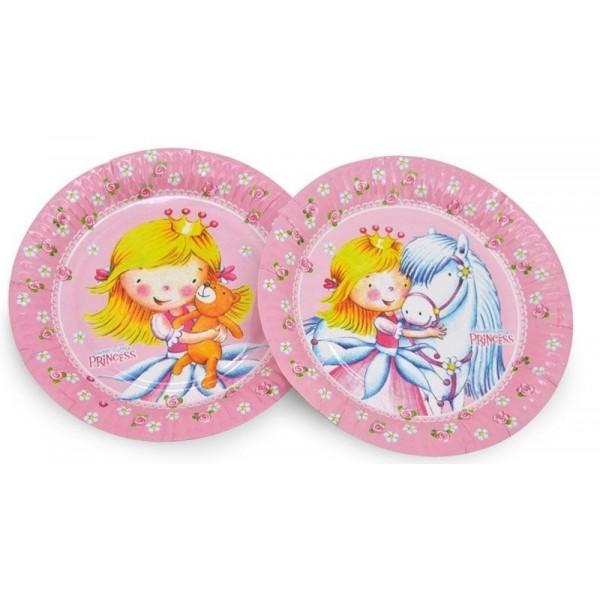 8 assiettes Sweet Little Princess