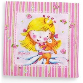 20 Serviettes Sweet Little Princess