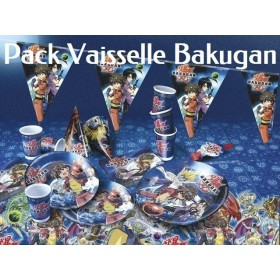Pack Vaisselle Bakugan