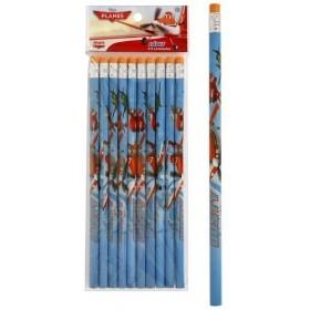 12 Crayons à papier Planes