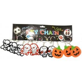 12 Porte-cles Halloween