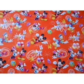 Papier cadeau Mickey - Minnie