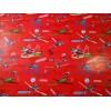 Papier Cadeau Planes fond rouge