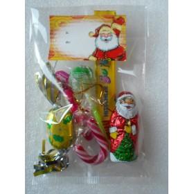 Sachet garni de Confiserie de Noël