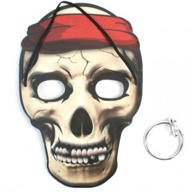 Masque Squelette Pirate