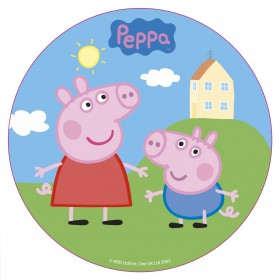 Disque en Sucre Peppa Pig