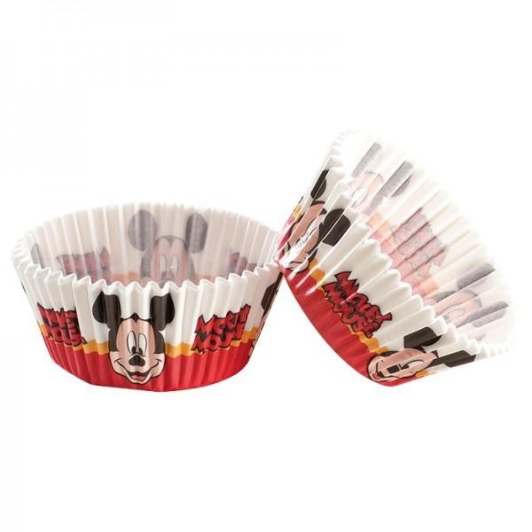 Moules en papier Mickey pour Cupcakes