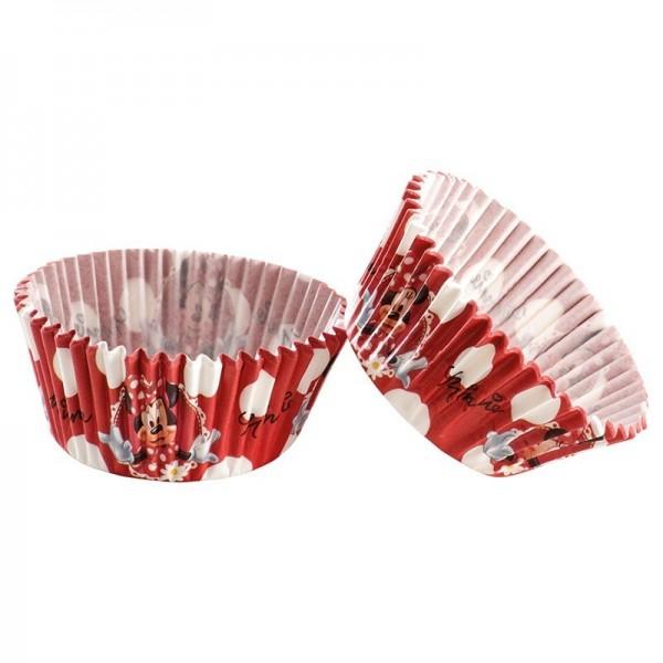 Moules en papier Minnie pour Cupcakes