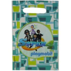 6 Pochettes Cadeaux Super 4 Playmobil