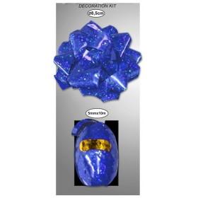 Nœud et Bolduc Bleu