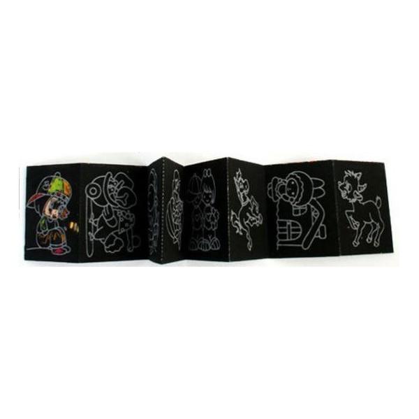 Album 8 Cartes à gratter