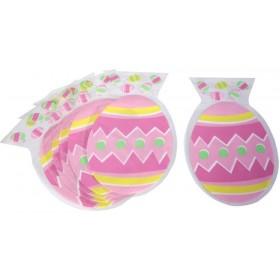 6 Sacs à Bonbons Oeuf de Pâques