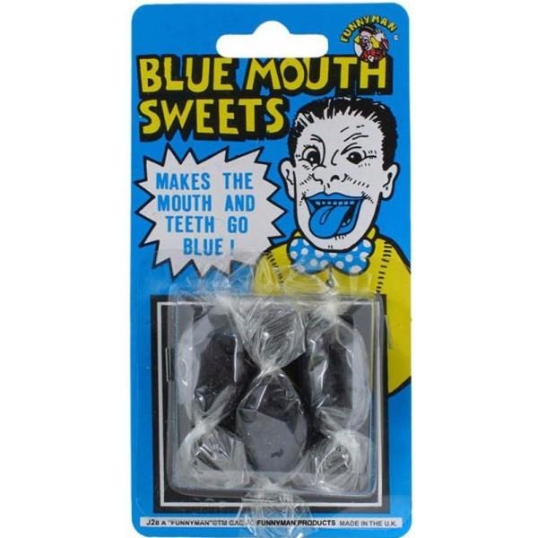 3 Bonbons Bouche Bleue