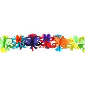 Guirlande Papier Fleurs