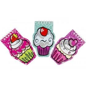 Carnet Cupcakes - petit cadeau pour filles