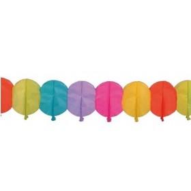 Guirlande en papier forme ballon