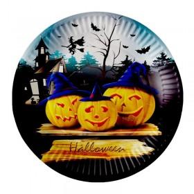 8 assiettes Halloween