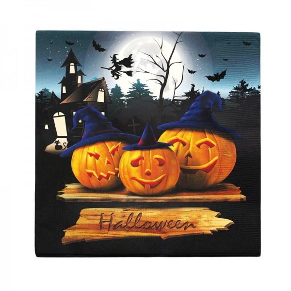 12 Serviettes Halloween