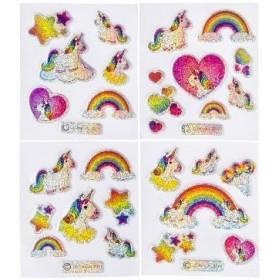 modèle de stickers Licorne