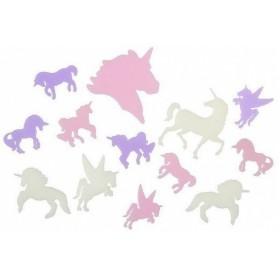 sujet phosphorescents licorne