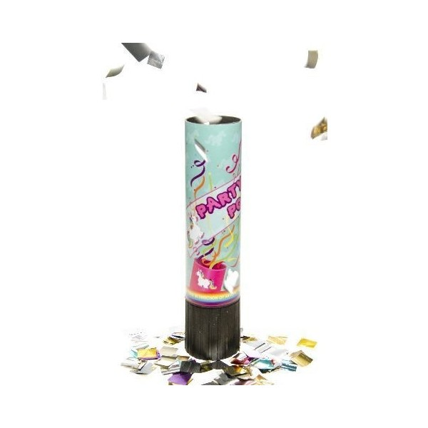 Canon à confettis thème Licorne