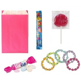 Pochette surprise avec bracelet perles