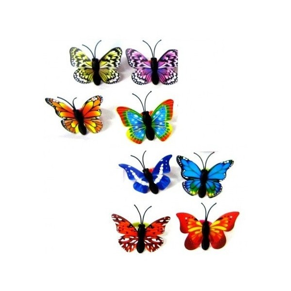 bague fantaisie papillon