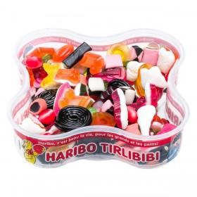 Boîte de bonbons Tirlibibi de la marque Haribo