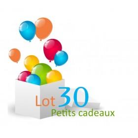 30 petits cadeaux anniversaire