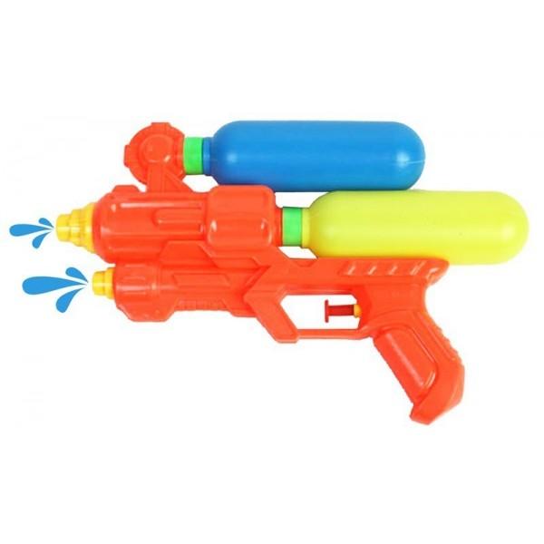 Pistolet à Eau Double Réservoir (24cm)