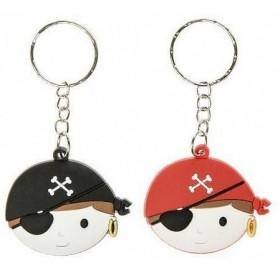 Porte-clé tête de pirate