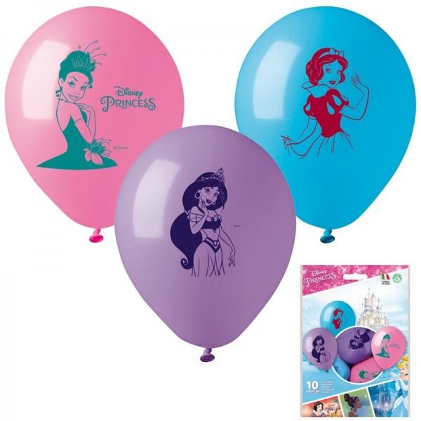 10 Ballons à gonfler Les princesses