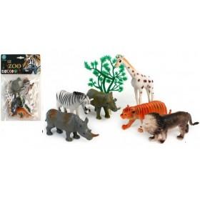 animal du zoo - 6 pièces