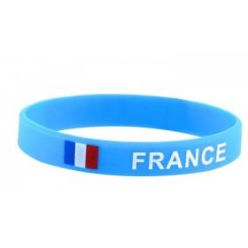Bracelet Silicone Supporter Equipe de france