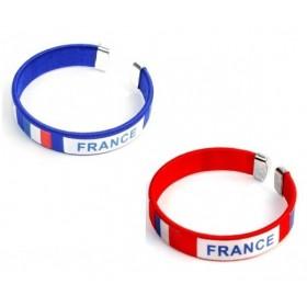 Bracelet supporter de l'équipe de France
