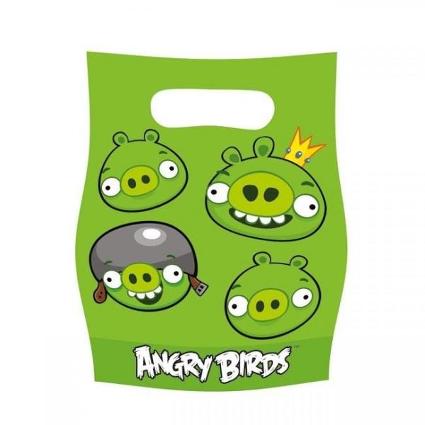 6 Sacs Cadeaux Angry Bird