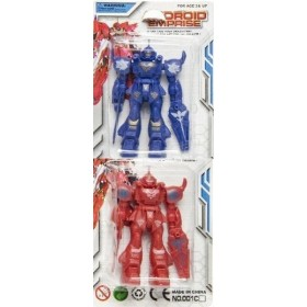 Lot de 2 robots Articulés
