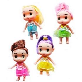 sachet de 24 mini poupée de la mode