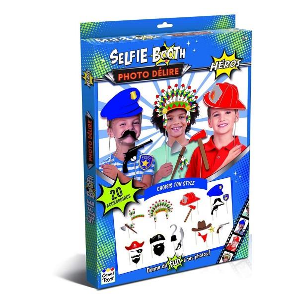 Kit 20 Accessoires Héros pour Selfies