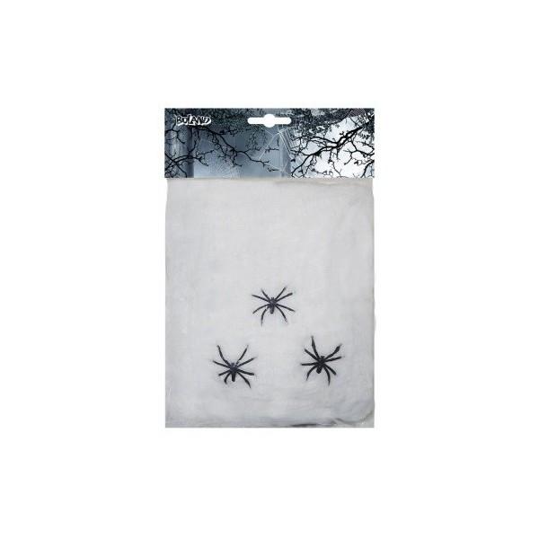 Toile d'araignée pour décoration Halloween - 20 grs