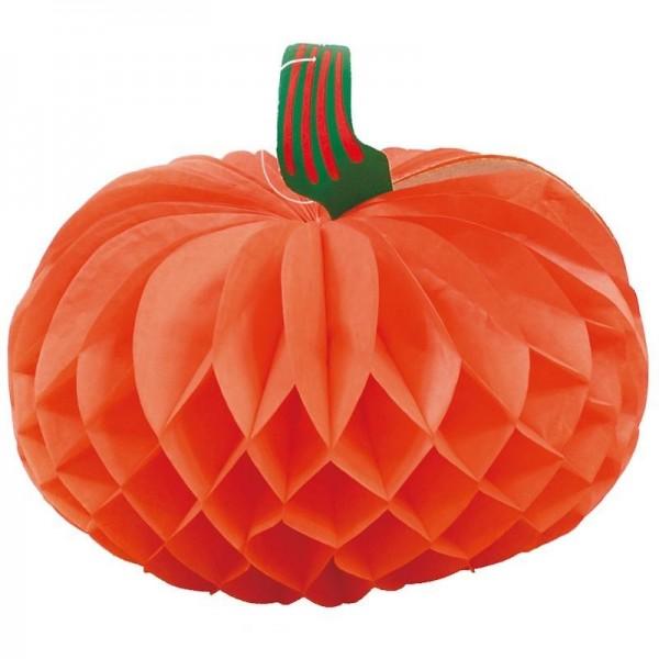 Citrouille Alvéolée Orange Halloween